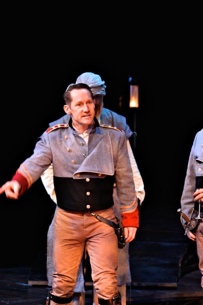 Cassio in Othello (photo by Sarah Bird)