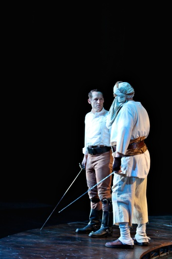As Cassio in Othello (with David Coral)