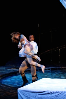 Fights - Corey Allen (Othello) and Shanara Gabrielle (Desdemona)