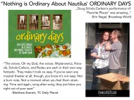 Actor: Ordinary Days at Nautilus Music-Theater